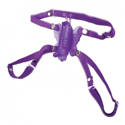 Stimolatore Micro Wireless Venus Butterfly Purple